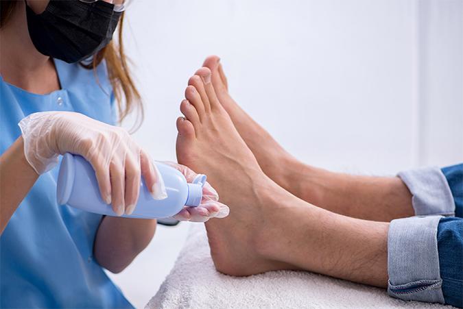 Resultaat kalknagel behandeling SkinMedix